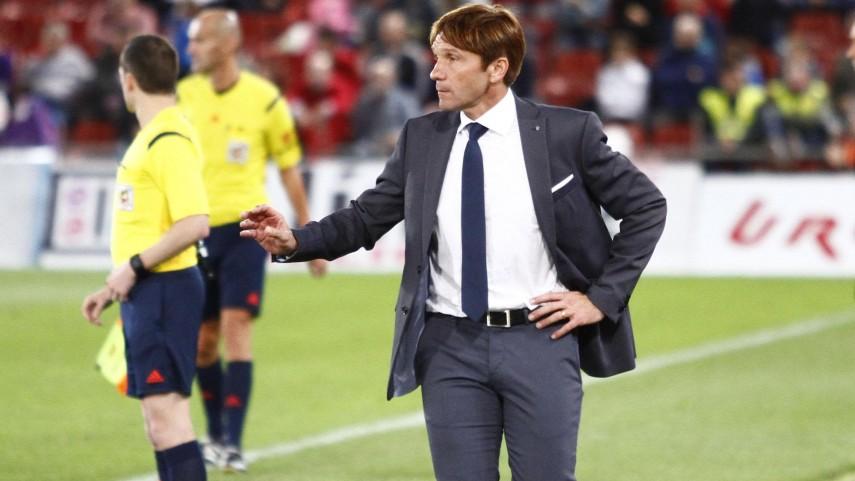Joan Carrillo, destituido como entrenador de la UD Almería