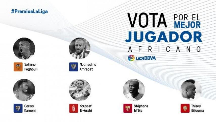 Elige al mejor jugador africano de la Liga BBVA 2014/15