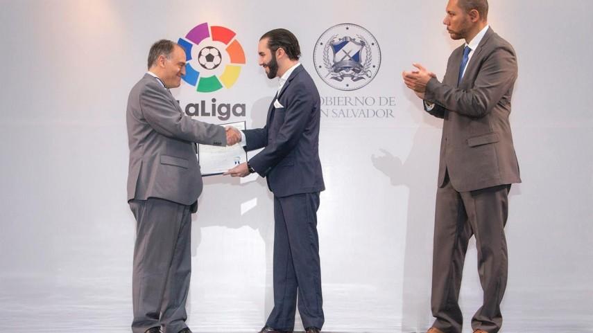 LaLiga fomentará la inclusión social a través del fútbol en El Salvador