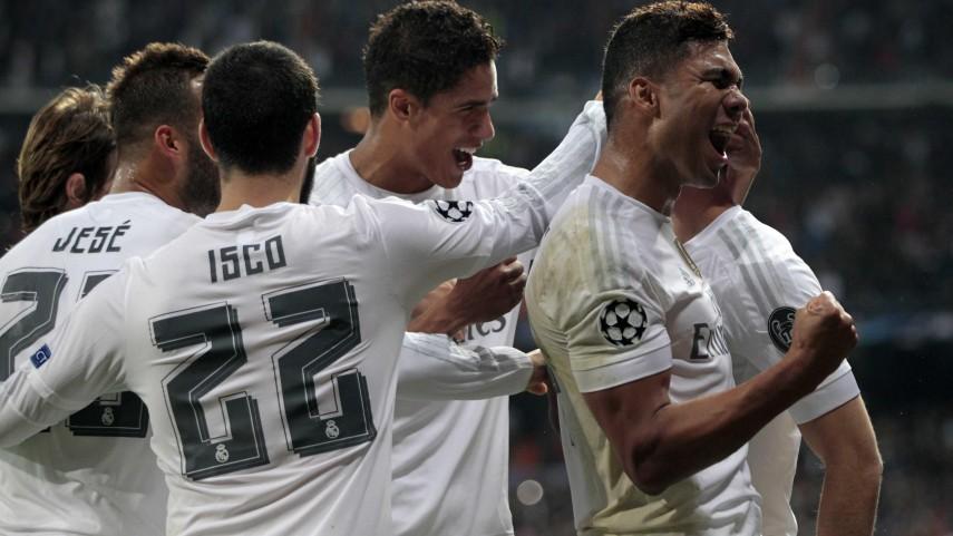 El R. Madrid se clasifica para octavos, el Atlético empata y el Sevilla se complica