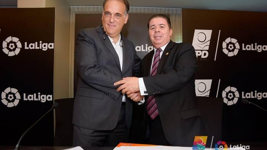 LaLiga firma una alianza con Costa Rica