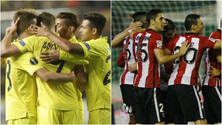 Villarreal y Athletic buscan dar un nuevo paso al frente en la Europa League