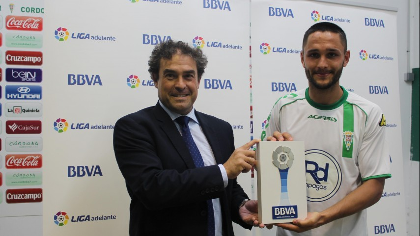 Florin Andone named Liga Adelante Player of the Month for October