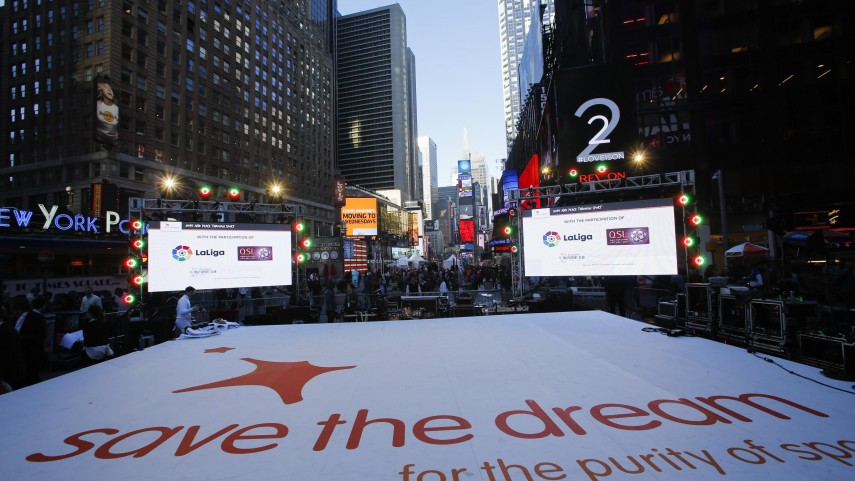 LaLiga, con Save the Dream en Nueva York