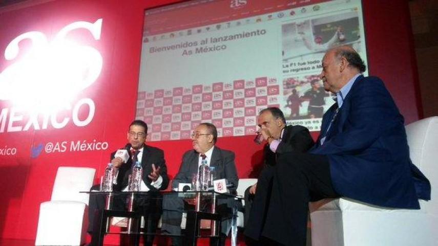 """Javier Tebas: """"México es uno de los países más importantes para el fútbol español"""""""