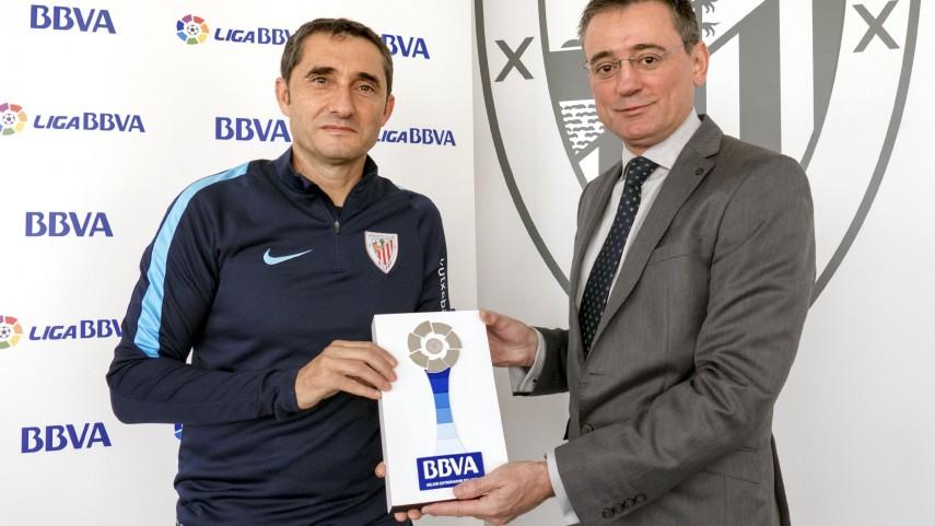 Ernesto Valverde, mejor entrenador de la Liga BBVA en octubre