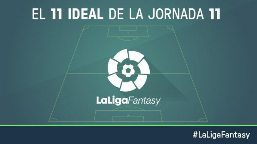 Once ideal de LaLiga Fantasy en la jornada 11