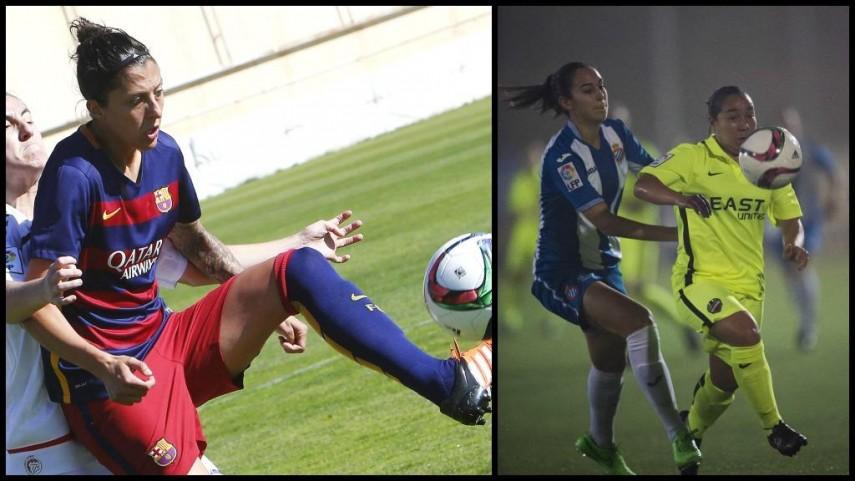 Jenni Hermoso y Charlyn Corral, las máximas goleadoras de Primera División Femenina