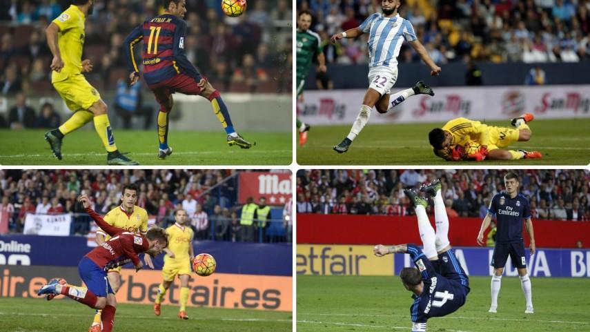 Elige el mejor momento de la jornada 11 de la Liga BBVA