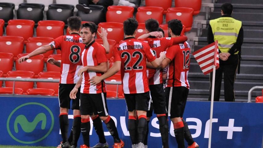 El Zaragoza sigue enrachado y el Bilbao Athletic abandona la última plaza