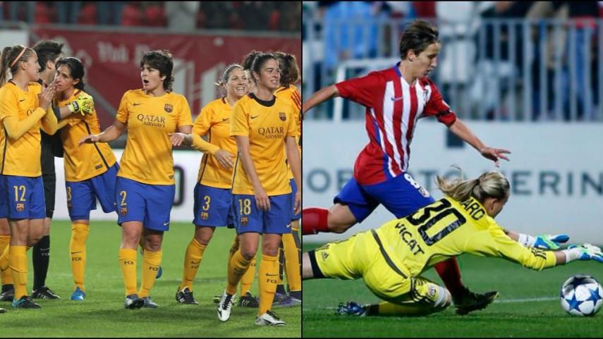 Victoria del FC Barcelona y derrota del Atleti en la Champions femenina