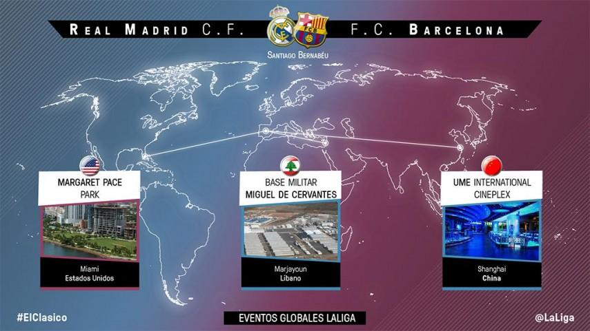 #ElClasico, un evento global para LaLiga