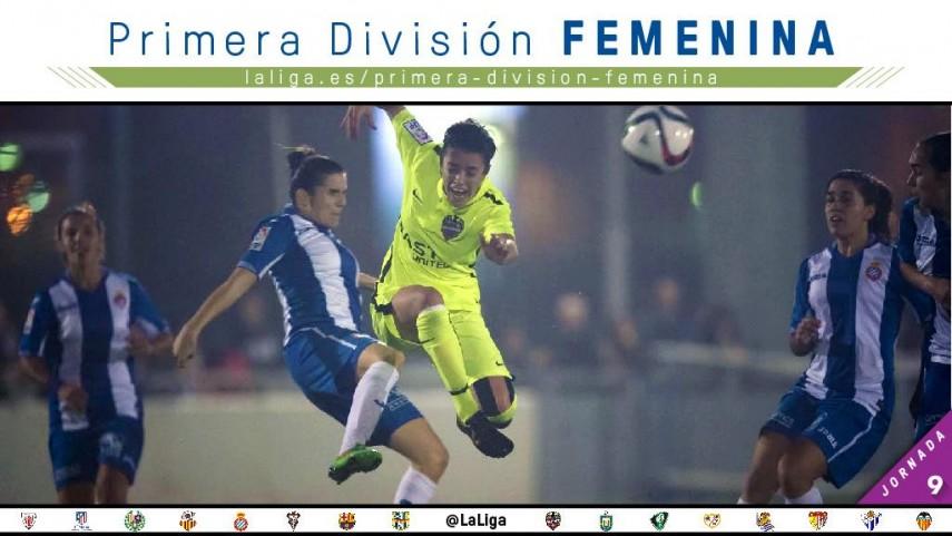 El Valencia CF - Atleti Féminas, protagonista de la jornada de Primera División Femenina