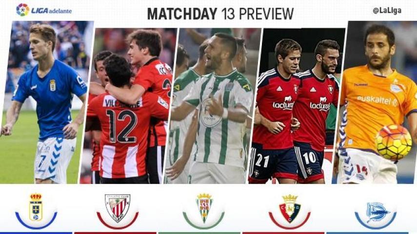 Un apasionante derbi madrileño protagoniza la jornada 13 de la Liga Adelante
