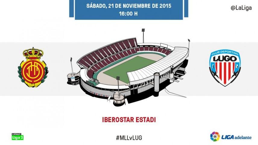 Un Mallorca necesitado recibe al Lugo