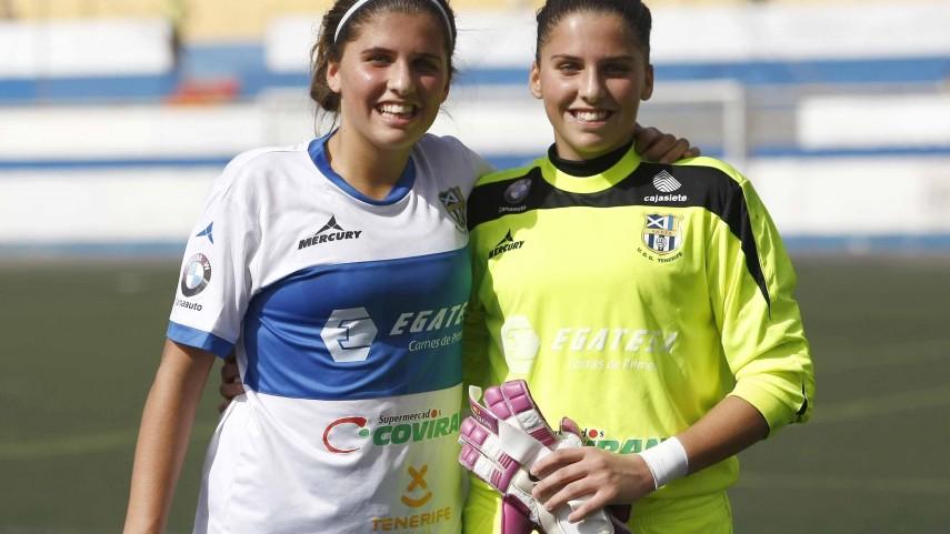 Las gemelas futbolistas