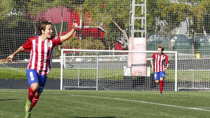 Sonia Bermúdez continúa como máxima goleadora de la Liga Iberdrola