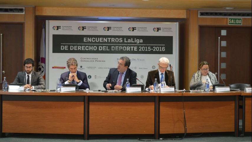 4º Encuentro LaLiga de Derecho del Deporte 2015-2016