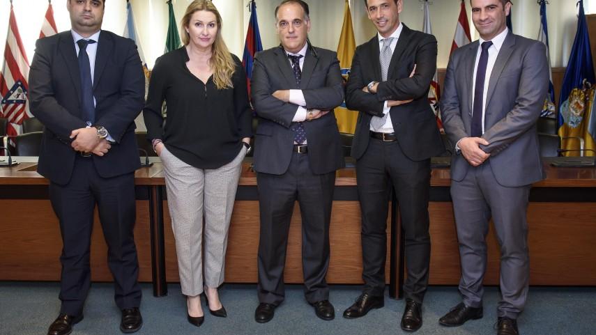 LaLiga recibe la visita del fútbol portugués