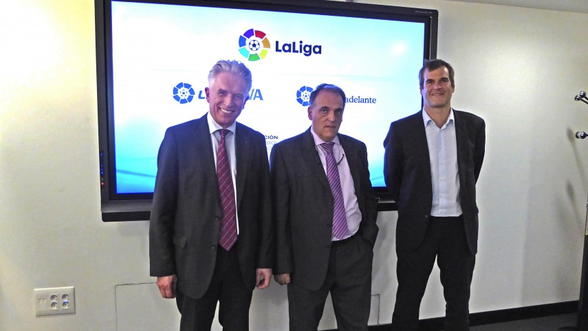 LaLiga strengthens its defense of the audiovisual rights