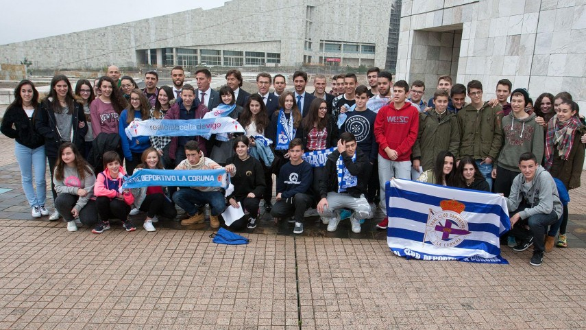 'Imposible sen ti', RC Deportivo y RC Celta preparan #ONosoDerbi