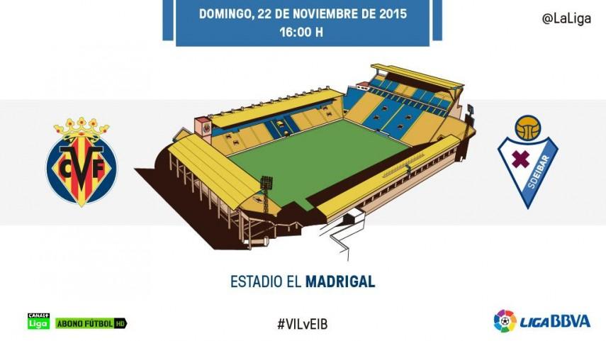 Villarreal y Eibar no tienen miedo a las alturas