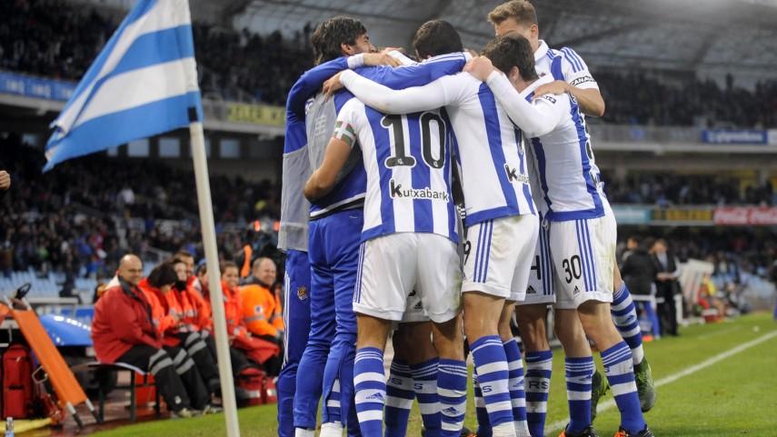 Eusebio se estrena en el banquillo de la Real Sociedad con victoria