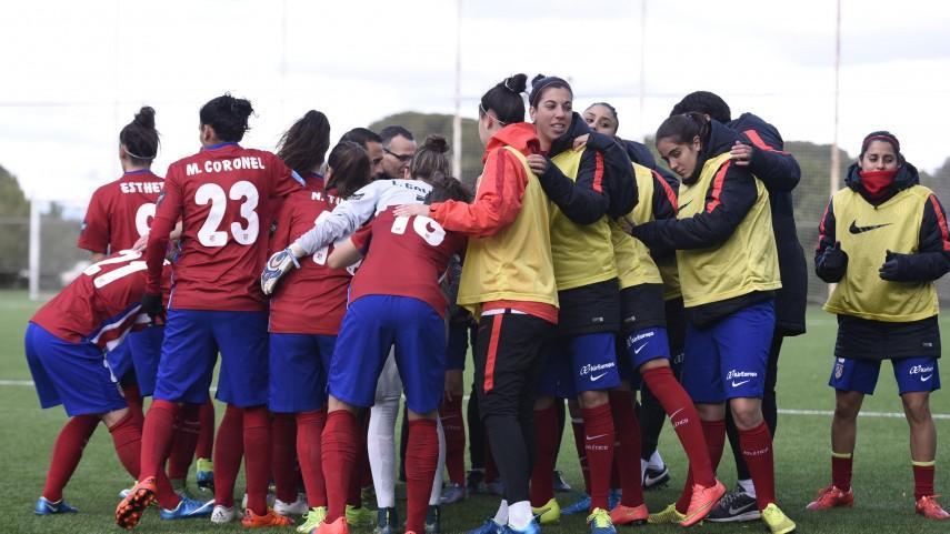 El Atleti Féminas, líder una jornada más de la Primera División Femenina