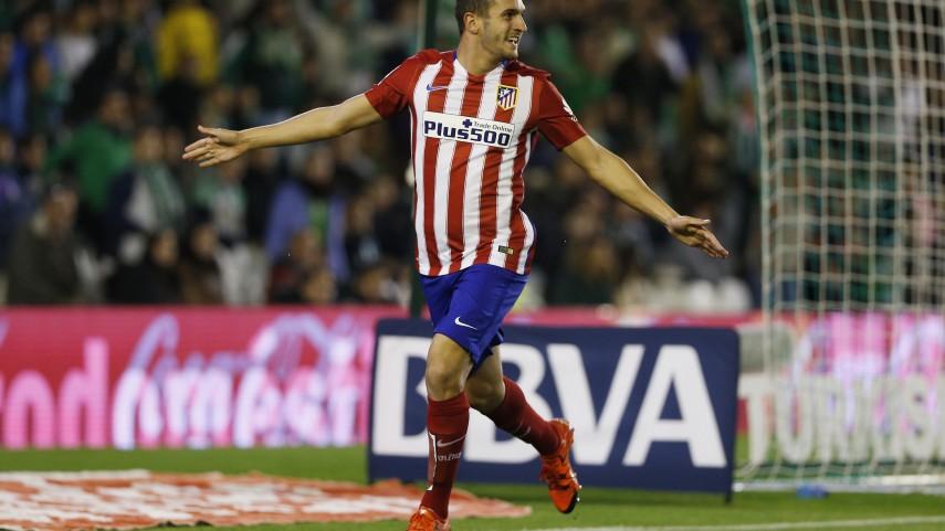 Koke da los tres puntos al Atlético de Madrid