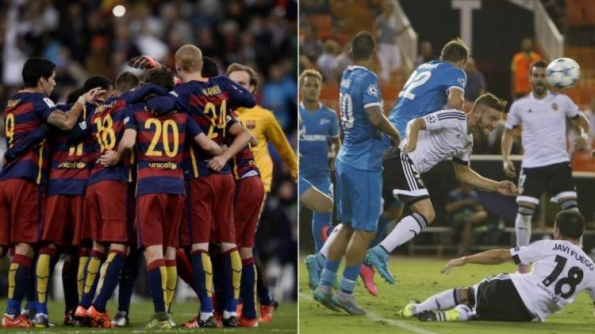 Jornada clave para FC Barcelona y Valencia en Champions