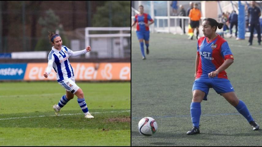 Charlyn y Nahikari, máximas goleadoras de la Primera División Femenina