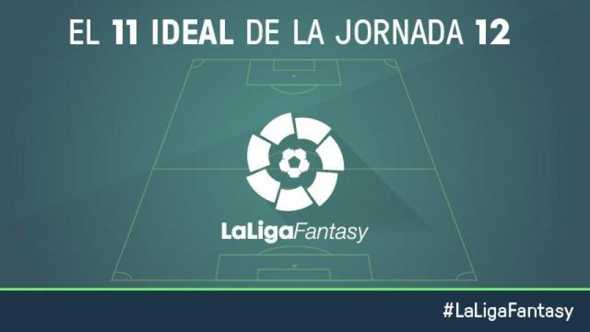 Once ideal de LaLiga Fantasy en la jornada 12