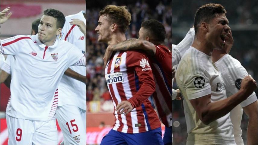 Sevilla, Atlético y Real Madrid necesitan una victoria de Champions