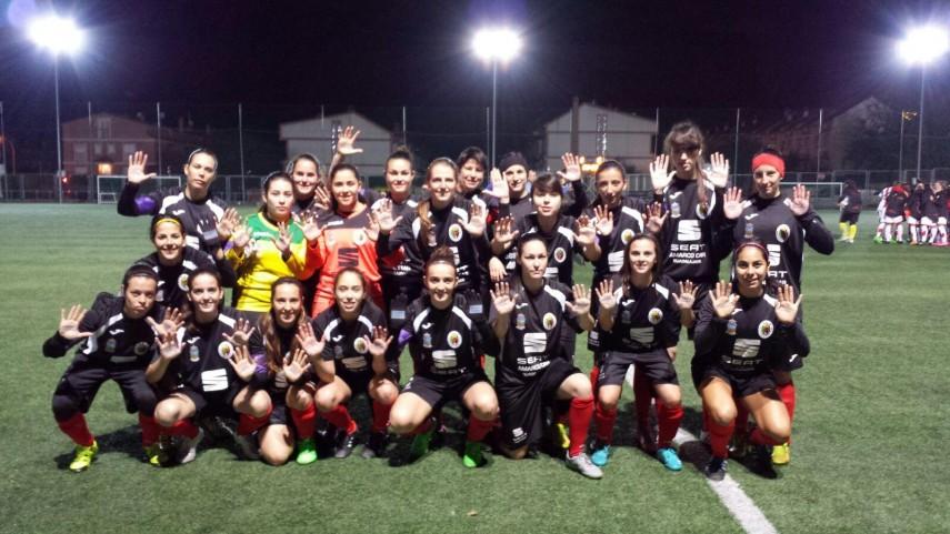 El Dínamo Guadalajara y el Rayo Vallecano femenino, juntos contra la violencia de género