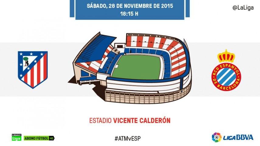 El Atlético de Madrid, al acecho del líder