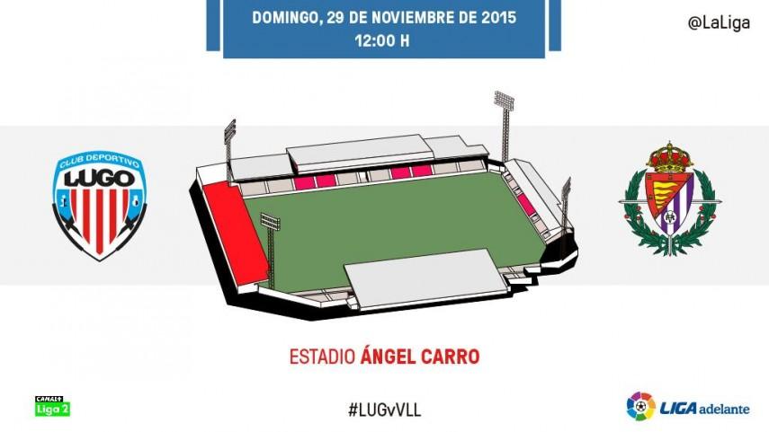 El R. Valladolid mide la buena racha del CD Lugo