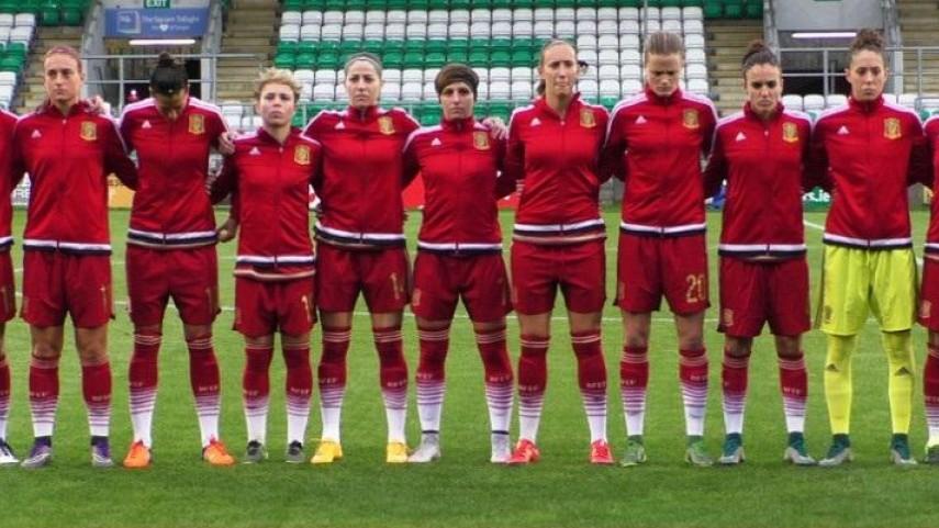 Victoria y liderato hacia la Eurocopa 2017 femenina