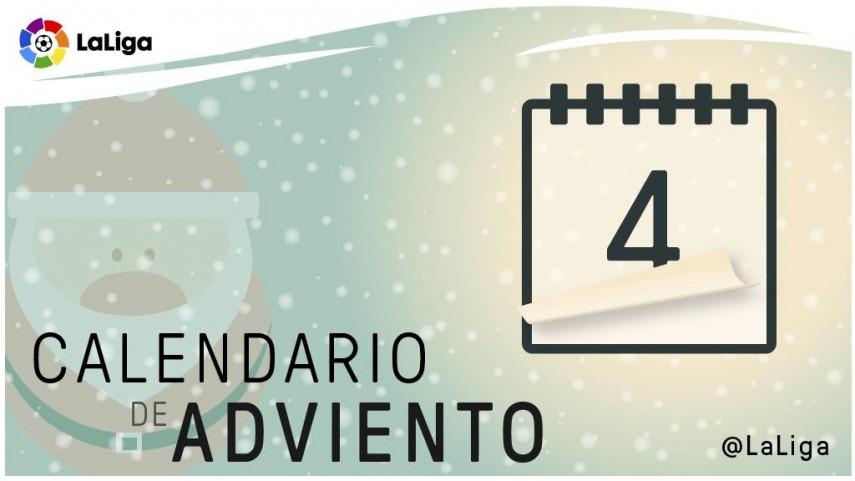 Calendario de Adviento de LaLiga: 4 de diciembre