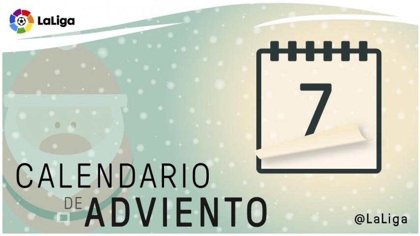 Calendario de Adviento de LaLiga: 7 de diciembre