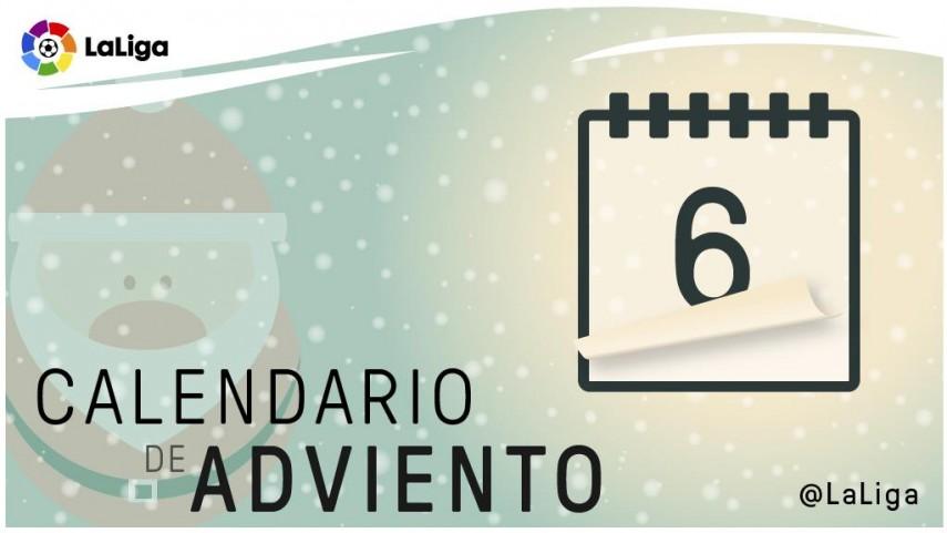Calendario de Adviento de LaLiga: 6 de diciembre