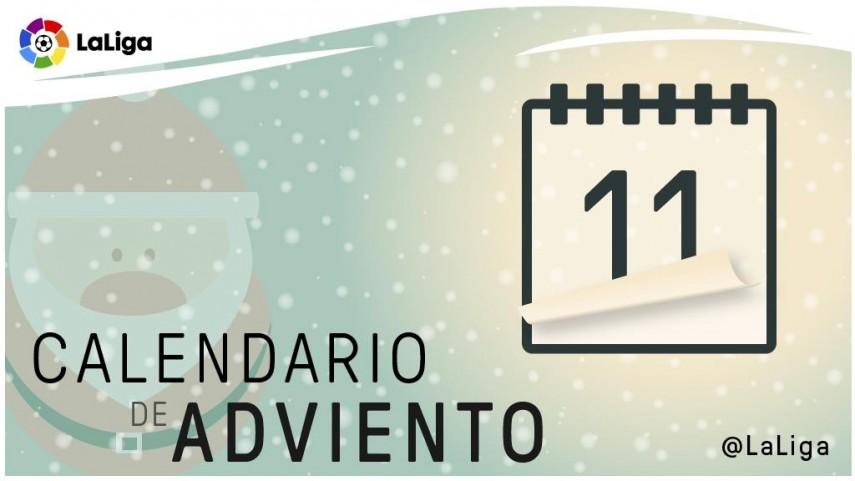 Calendario de Adviento de LaLiga: 11 de diciembre