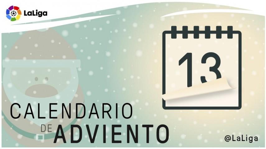 Calendario de Adviento de LaLiga: 13 de diciembre