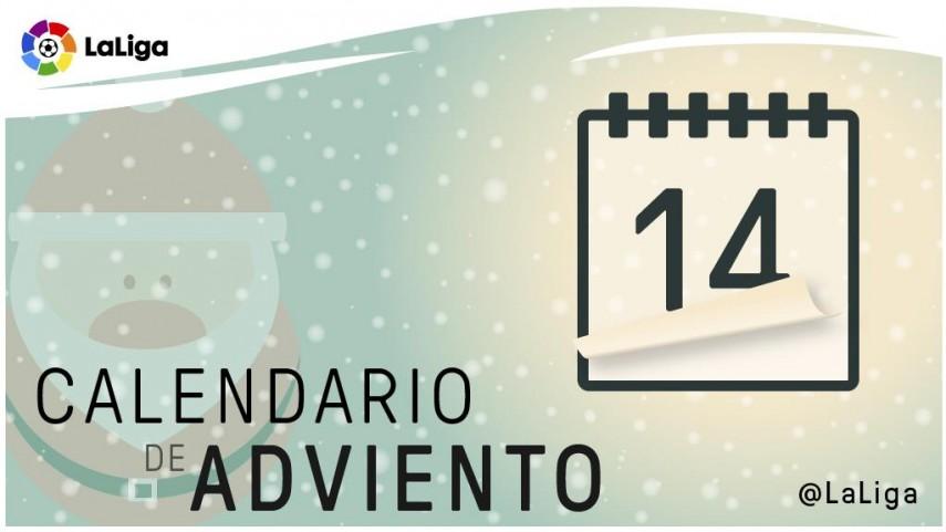 Calendario de Adviento de LaLiga: 14 de diciembre