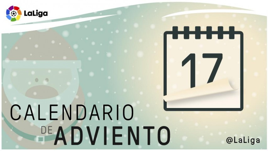 Calendario de Adviento de LaLiga: 17 de diciembre