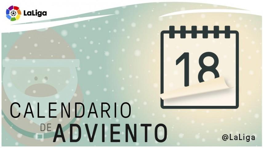 Calendario de Adviento de LaLiga: 18 de diciembre