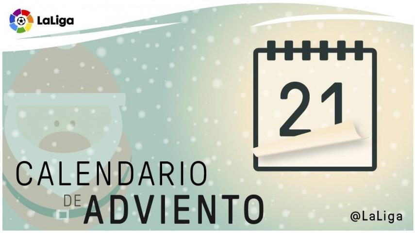 Calendario de Adviento de LaLiga: 21 de diciembre