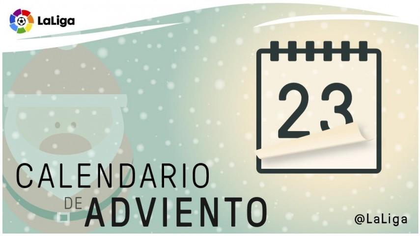 Calendario de Adviento de LaLiga: 23 de diciembre