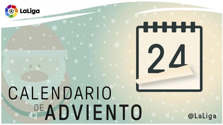 Calendario de Adviento de LaLiga: 24 de diciembre