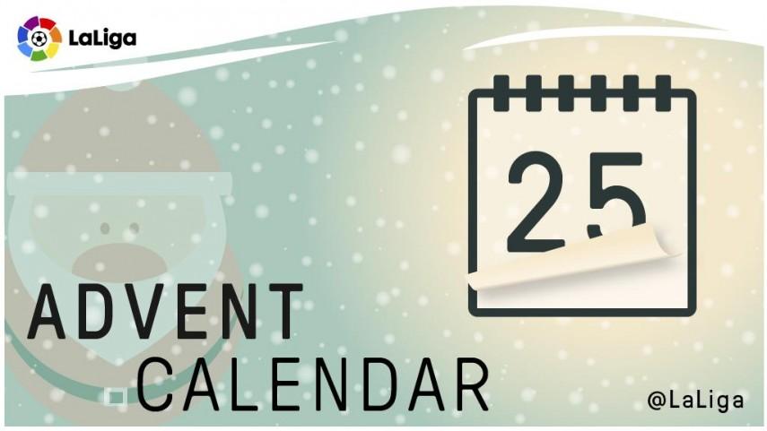 Calendario de Adviento de LaLiga: 25 de diciembre