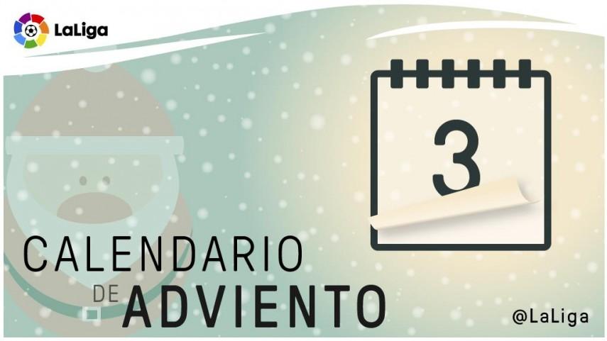 Calendario de Adviento de LaLiga: 3 de diciembre